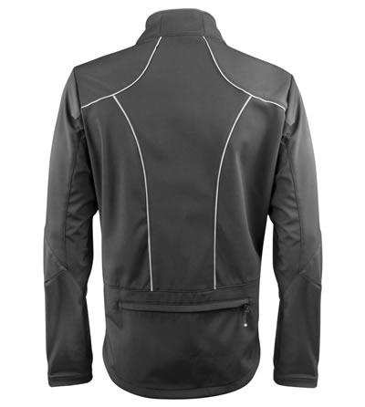 Men's Softshell Cycling Jacket Back View