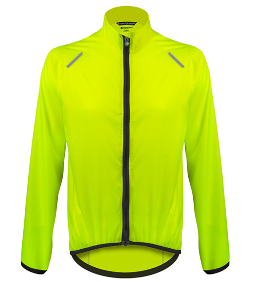 high visibility cycling windbreaker