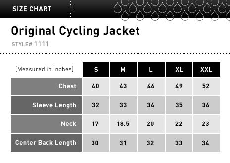 cycling rain coat