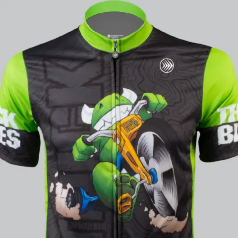 Thick Bikes custom cycling jerseys