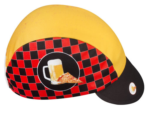 PIZZA AND BEER HAT