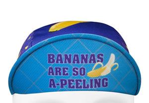banana cycling hat