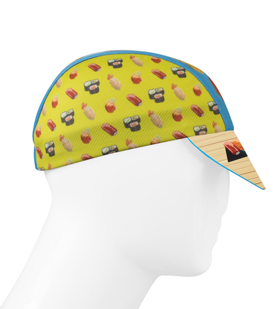Aero Tech Rush Cycling Caps Sushi That S How I Roll