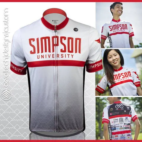 Simpson custom cycling jerseys