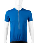 Blue Solid Color bike jersey