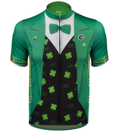 Lucky Leprechaun St. Patrick's Day Cycling Jersey