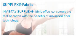 SUPPLEX® Fabric You won?????t believe it?????s not cotton.