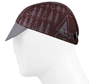 TREES Rush Cycling Caps Full Left Side View