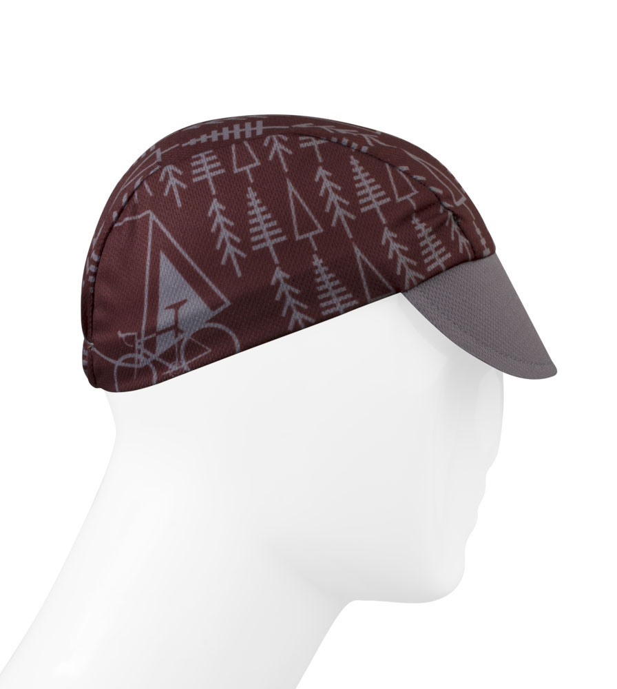 TREES Rush Cycling Caps Full Right Side View