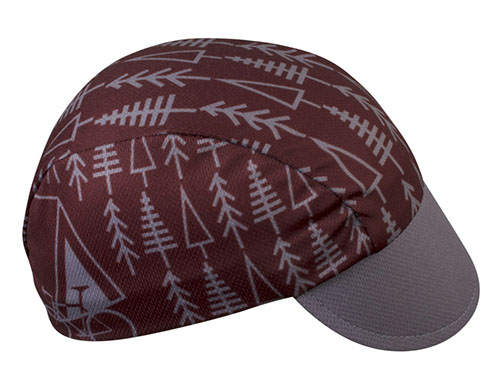 TREES Cycling Cap Side View