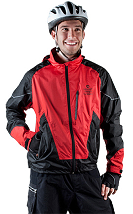 waterproof breathable cycling jacket