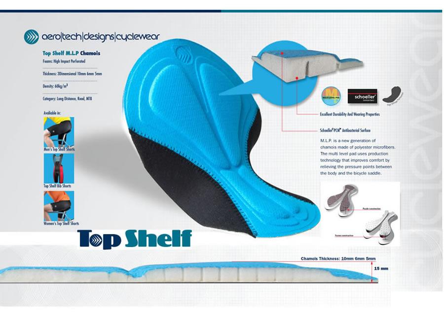 women's top shelf chamois pad