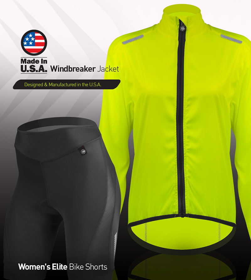Make it an elite women's cycling kit