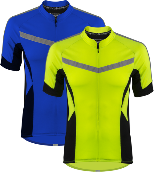 High Vis Reflective Cycling Jersey Made For Visibility