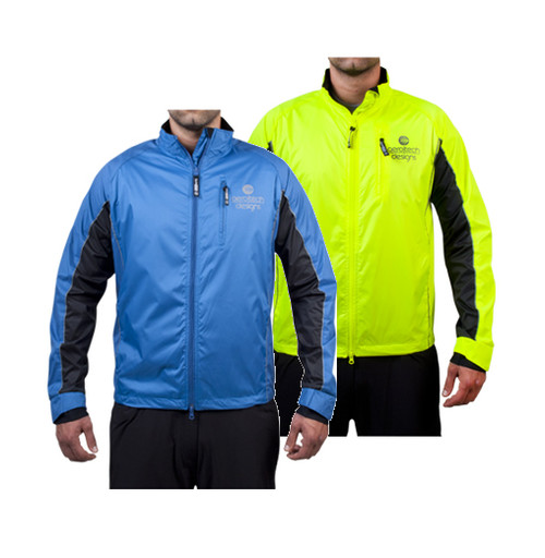 Illuminite Reflective Windbreaker Triathlon Jacket Aero