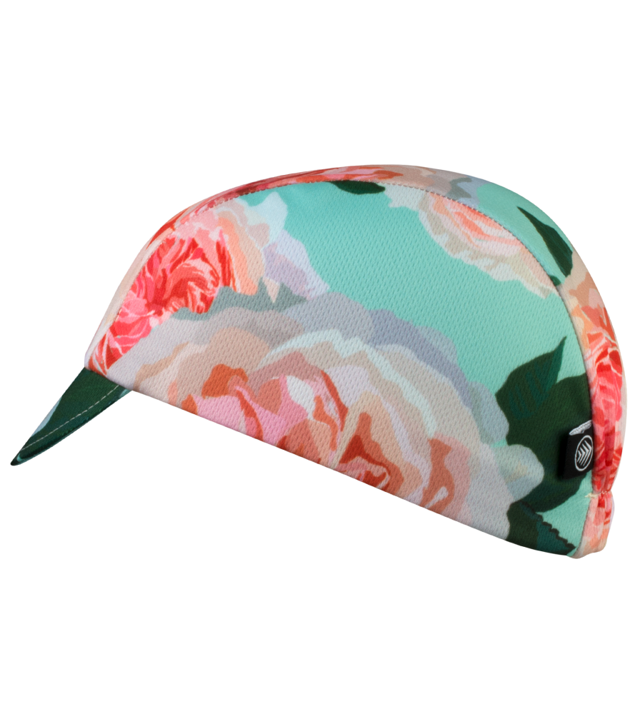 rose cycling cap
