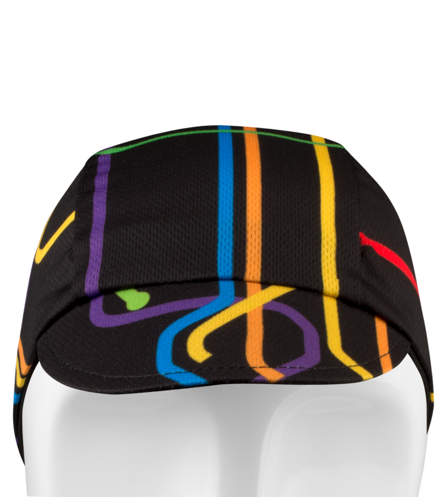 subway theme cycling cap
