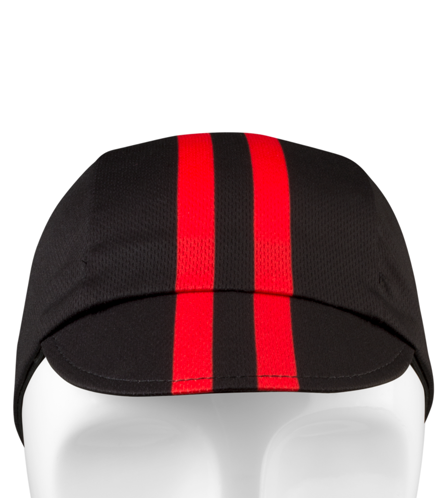 Rush_CyclingCaps_Classic_Red_Front