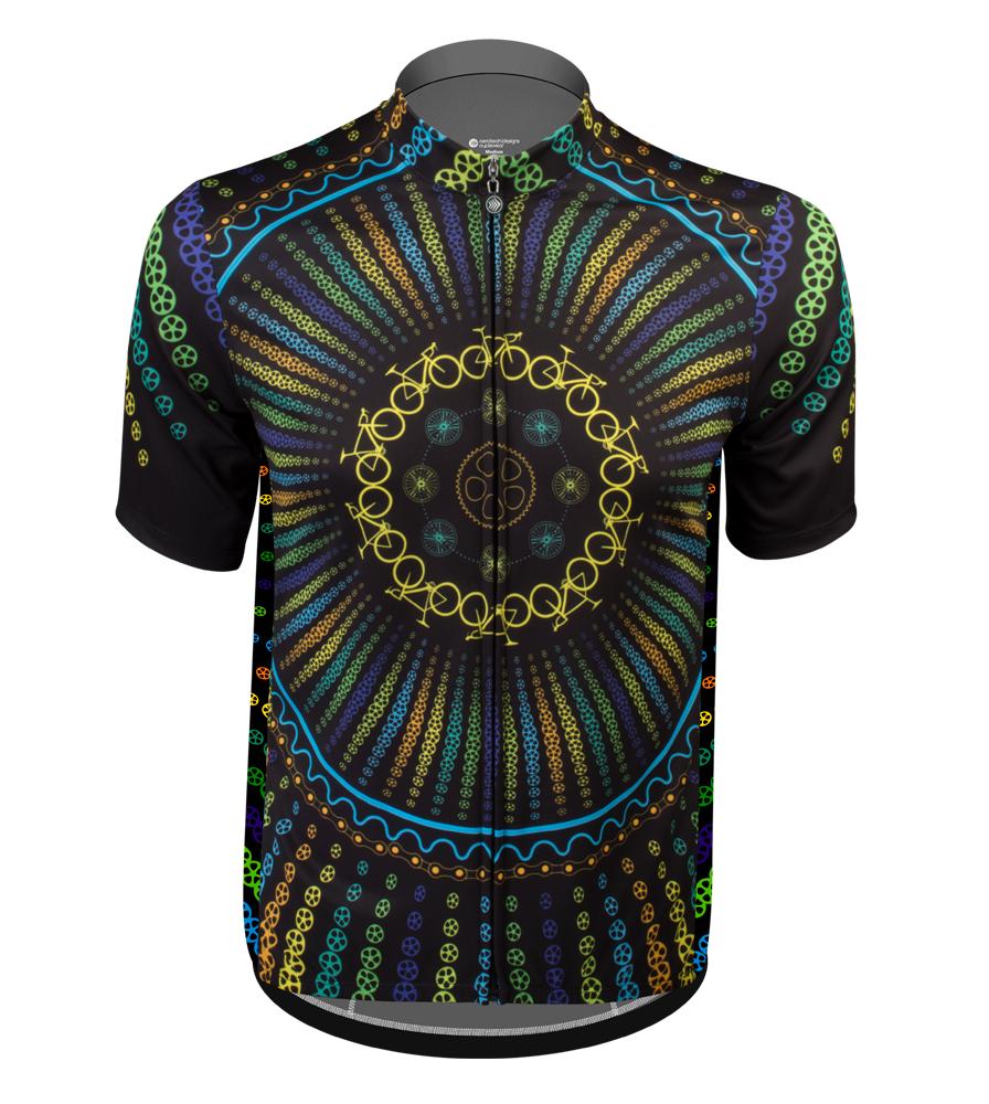 namaste cycling jersey from Aero Tech Designs