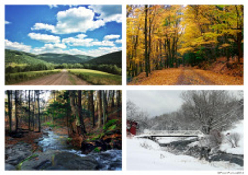 Catskill Mountain Seasons Puzzle