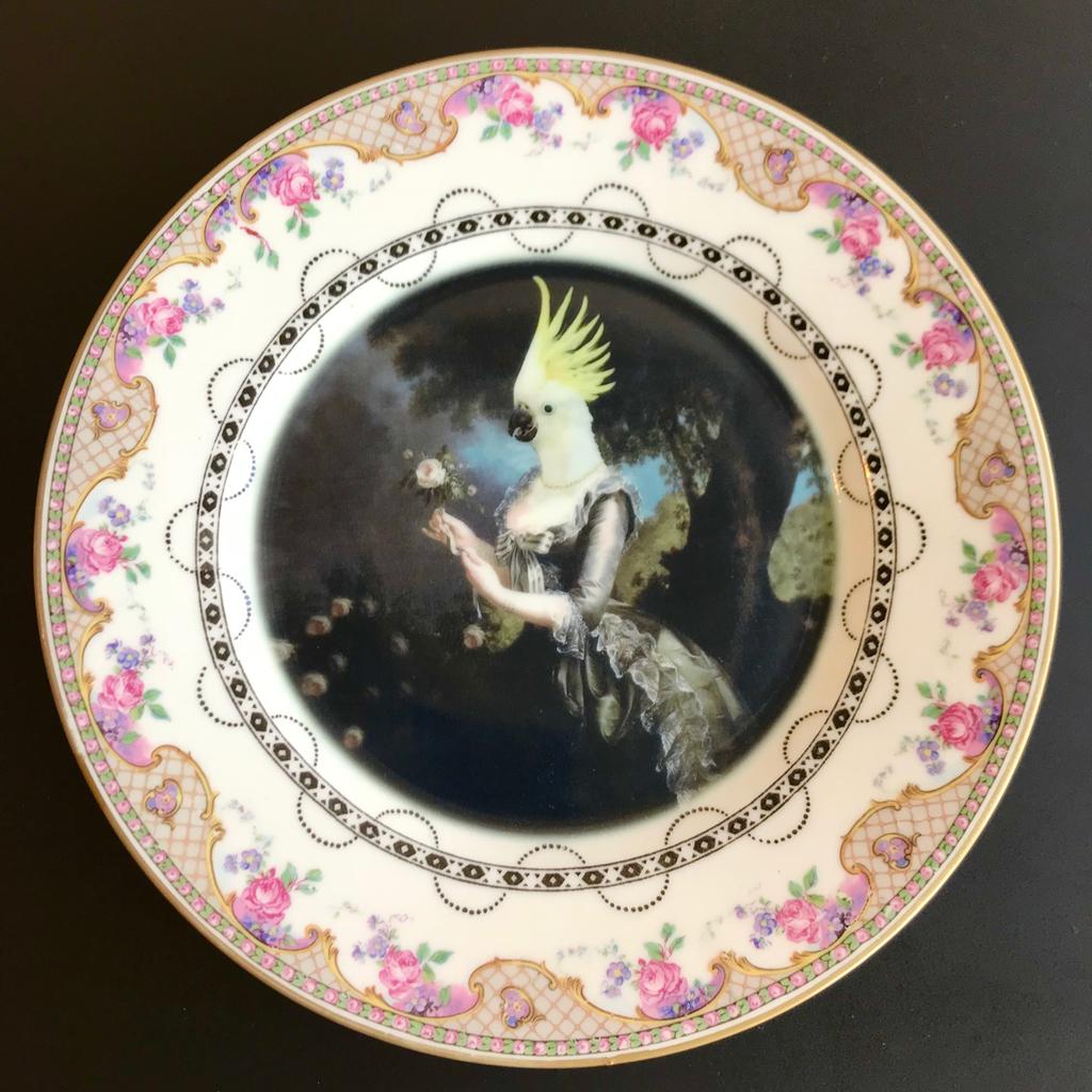 Nymphicus Royal Mistress Portrait Plate