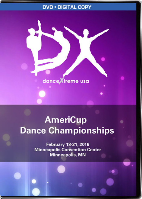 DX AmeriCup Dance Championship DVD