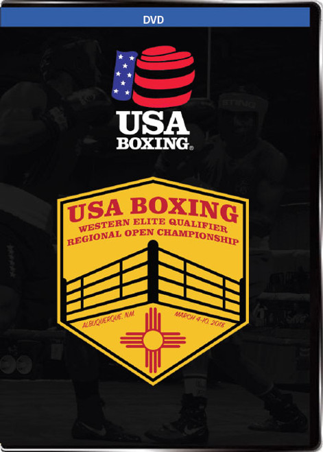 USAB Boxing Western Qualifier DVD