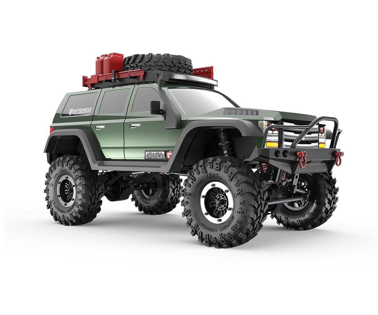 Rc Trucks Green : Everest gen pro rc monster truck electric ghz