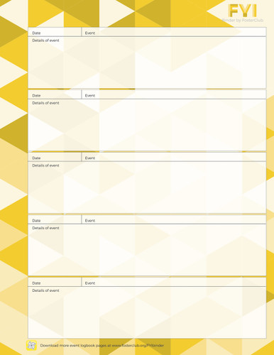 Logbook Pages - FREE Download