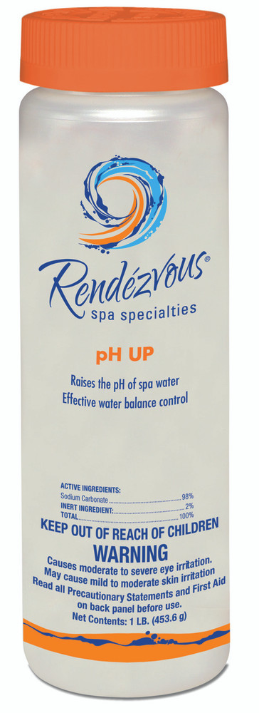 Rendezvous Spa Specialties pH Up - 1 lb  -  106695