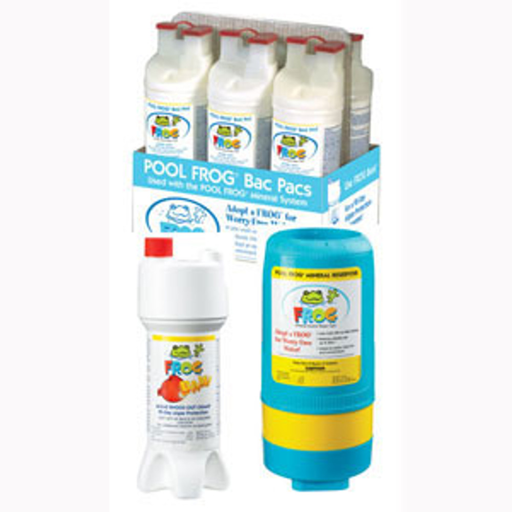 Pool Frog Series 5400 Kit II plus non-chlorine shock