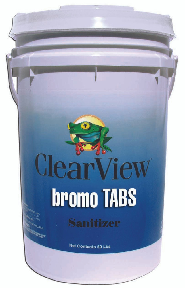 ClearView Bromo Tabs - 50 lb  -  BR050
