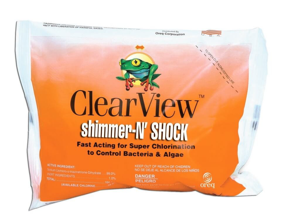 ClearView Shimmer-N' Shock - 1 lb  -  DB001