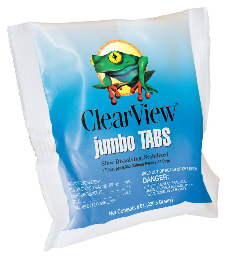 "ClearView Jumbo Tab 3"" - Individual  -  TLCR048"