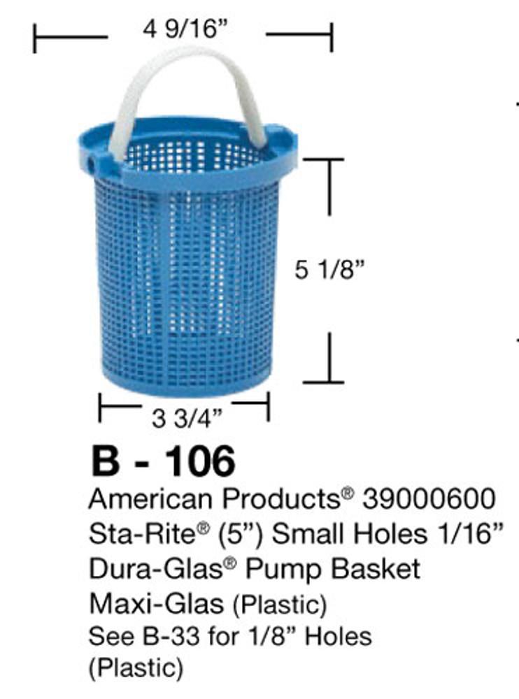 Aladdin B-106 Pump Basket