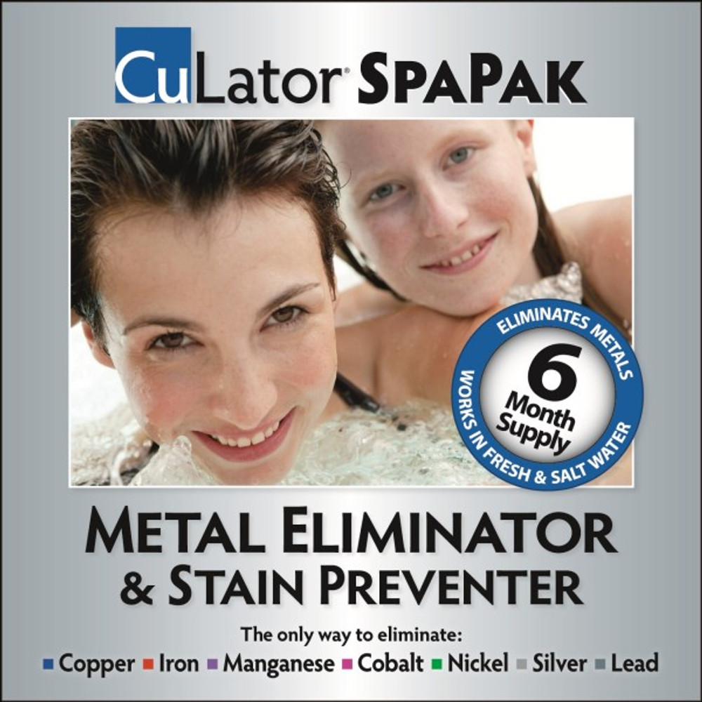 CuLator Spa Metal Remover & Stain Preventer  -  SPA