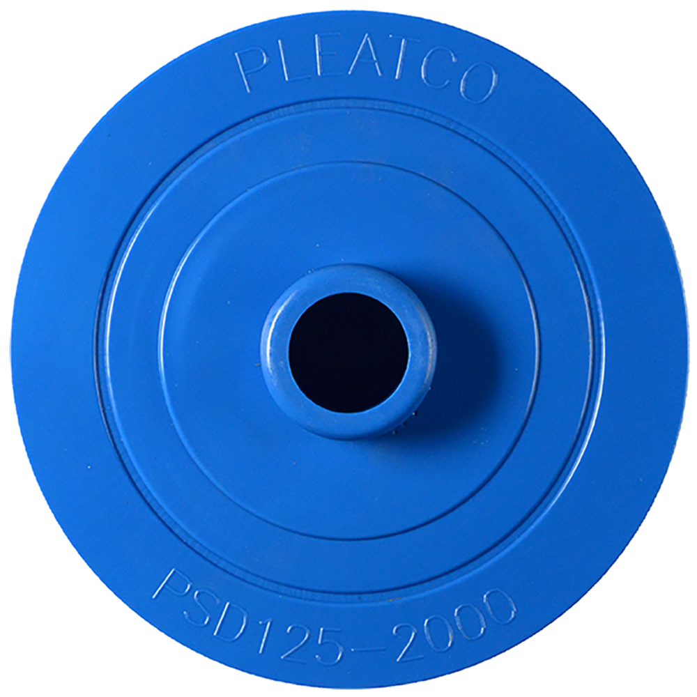 Pleatco PSD125-2000M - Replacement Cartridge - Sundance Spas - 125 sq ft, Antimicrobial, top