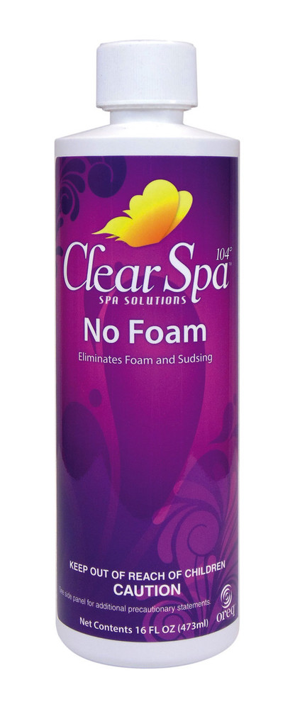 ClearSpa 104 No Foam - 16 oz  -  CSLNFPT12