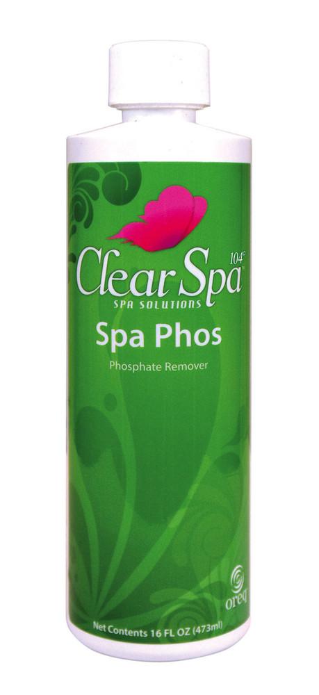 ClearSpa 104 Spa Phos - 16 oz  -  CSLPBPT12