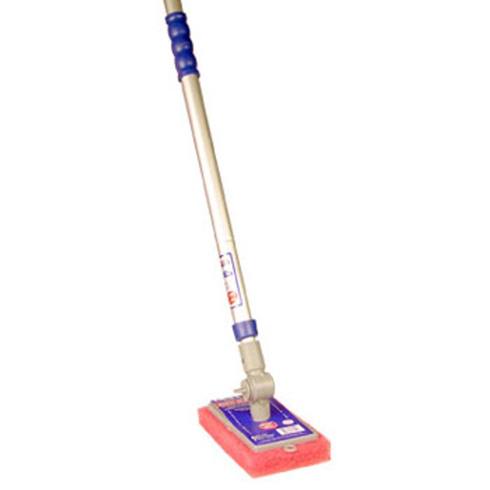 Adjust-A-Brush 41'' X 70'' Adjustable Pole with Medium Scrub Pad  -  ADJPOLES01