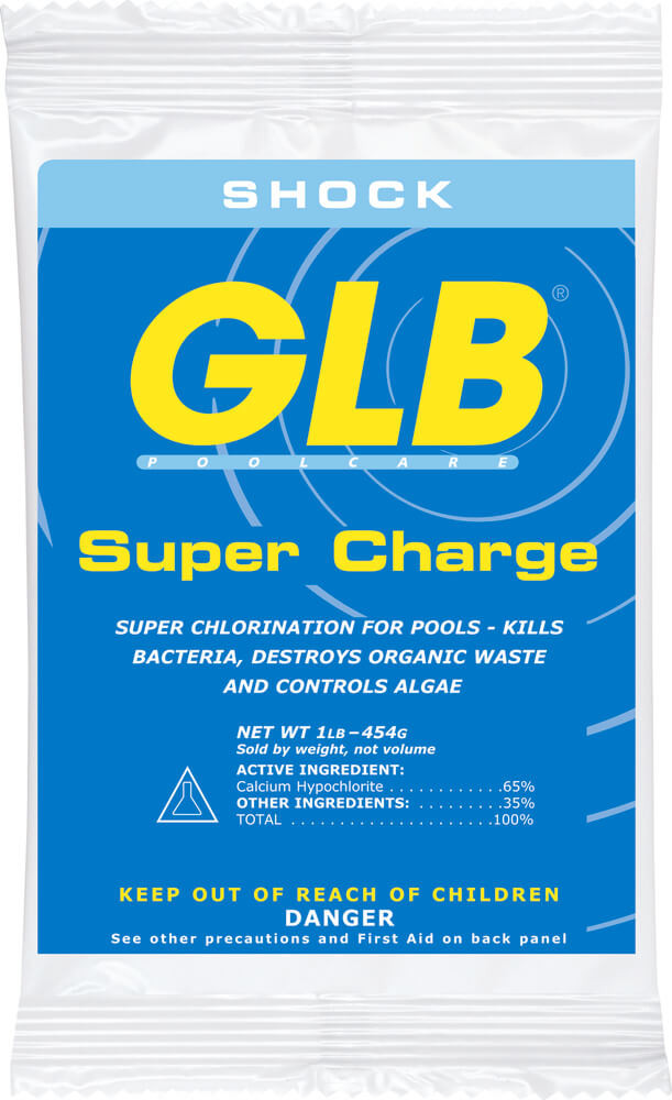 GLB Super Charge chlorine shock - 1 lb