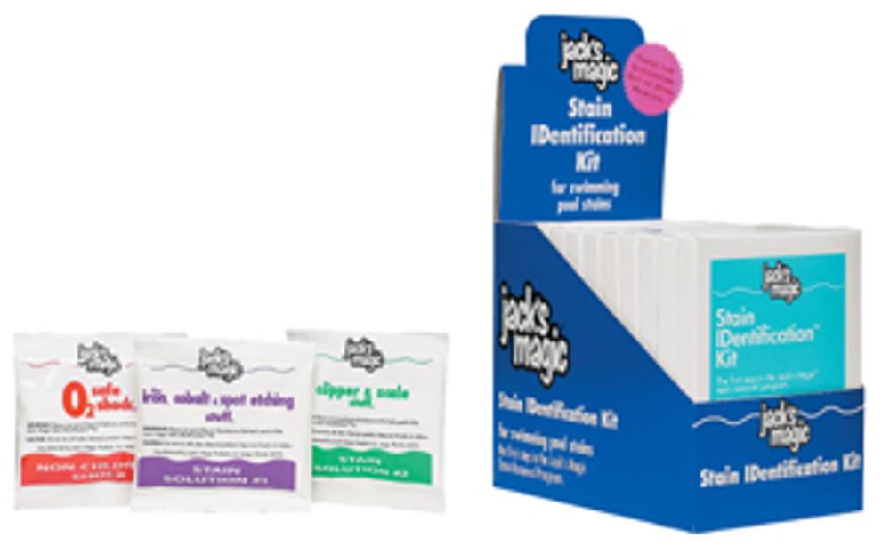 Jack's Magic Stain ID Kit  -  STID