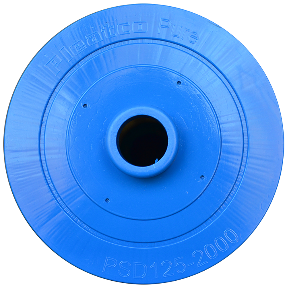 Pleatco PSD125-2000 - Replacement Cartridge - Sundance Spas - 125 sq ft, top