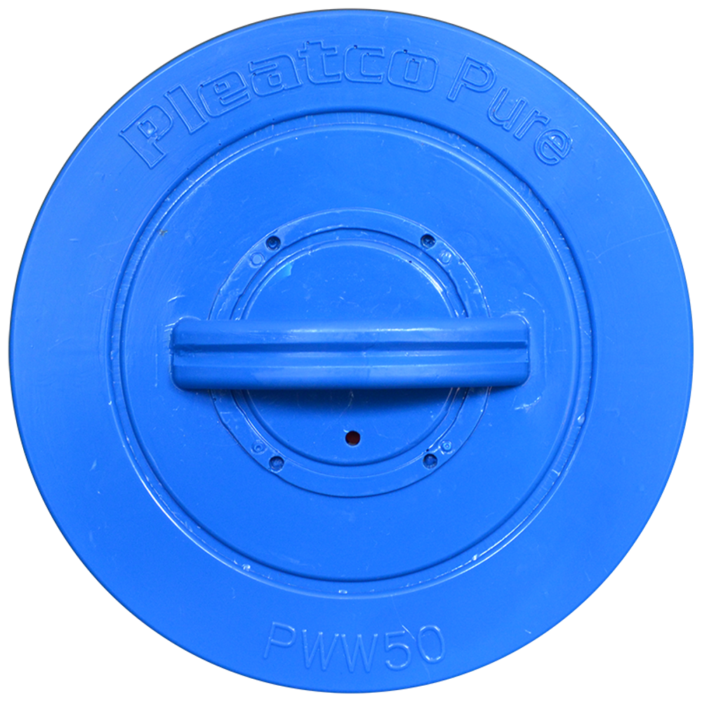 Pleatco PWW50P3 - Replacement Cartridge - Waterway Front Access Skimmer - 40 sq ft, top