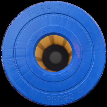 Pleatco PSD90-P - Replacement Cartridge - Sundance Spas - 90 sq ft, top