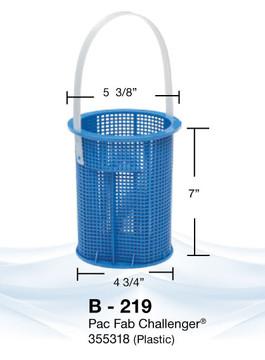 Aladdin B-219 Pump Basket