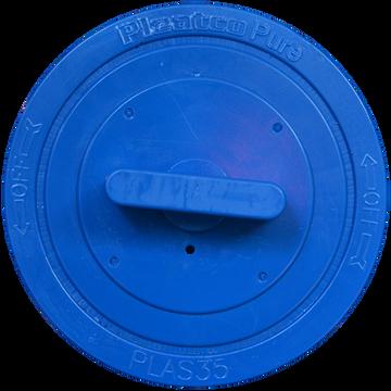 Pleatco PLAS35 - Replacement Cartridge - Advanced / LA Spas bag filter - 30 sq ft, top