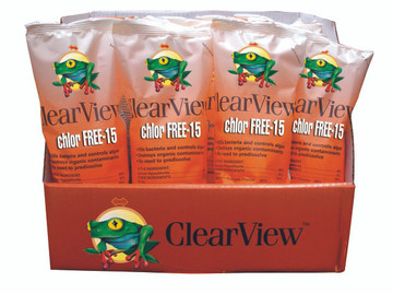 ClearView Chlor Free Shock and Swim 15 - 1 lb  -  CVCF001