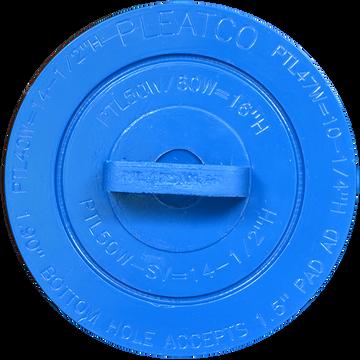 Pleatco PTL50W-P4 - Replacement Cartridge - Advanced / LA Spas - 50 sq ft, top