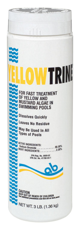Applied Biochemists Yellowtrine algaecide - 3 lb